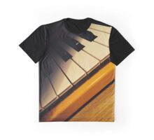 Yellow Keyboard Graphic T-Shirt