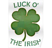 Luck 'O The Irish Poster