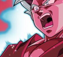 Goku God Blue Kaioken x10 Sticker
