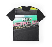 Neon Arcade Sign Graphic T-Shirt