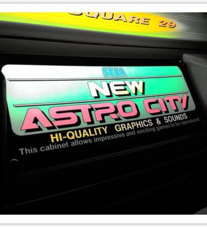 Neon Arcade Sign Sticker
