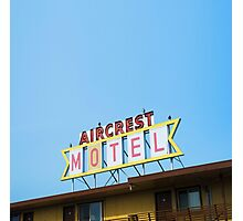 the Aircrest Motel Photographic Print