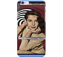 Coming Out of Her Frame iPhone Case/Skin