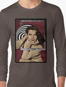 Coming Out of Her Frame Long Sleeve T-Shirt