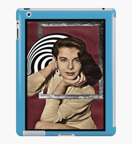 Coming Out of Her Frame iPad Case/Skin