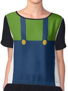 It's a me, err... Luigi? Chiffon Top