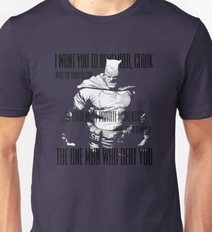 TDKR - I Want You to Remember Unisex T-Shirt