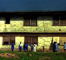 Ibadan School Children by Wayne King
