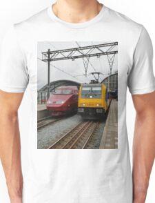 Dutch international trains Unisex T-Shirt