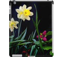 Daffodil and Trillium iPad Case/Skin