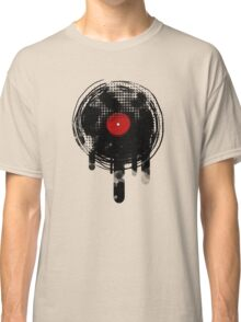 Melting Vinyl Records Vintage Classic T-Shirt