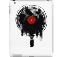 Melting Vinyl Records Vintage iPad Case/Skin