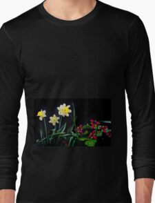 Daffodil and Trillium Long Sleeve T-Shirt