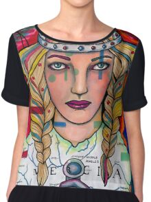 Aethelflaed - the Lady of Mercia Chiffon Top