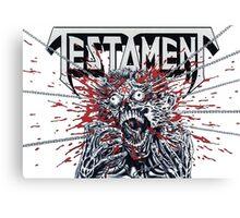 Testament T-Shirt Canvas Print