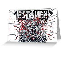 Testament T-Shirt Greeting Card