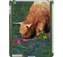 Long Horn Cow 2 iPad Case/Skin