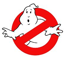 Ghostbusters logo sticker Photographic Print