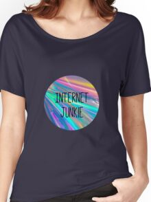 internet junkie Women's Relaxed Fit T-Shirt
