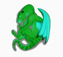 Sleeping Dragon (Green) Unisex T-Shirt