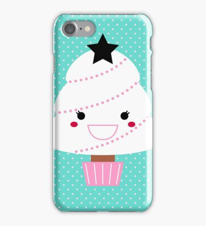 Beautiful cartoon Christmas Tree iPhone Case/Skin