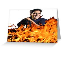 Sal Khan  Greeting Card