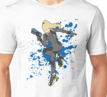 Zero Suit Samus (Black Alt.) - Super Smash Bros Unisex T-Shirt