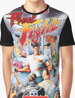 Final Fight T-Shirt Graphic T-Shirt