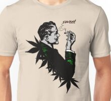 Politics and Weed - Sweet - Politician Smoking Cannabis Unisex T-Shirt