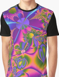 Psychedelic Gardening Graphic T-Shirt