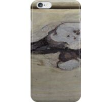 Whale of a Knothole iPhone Case/Skin