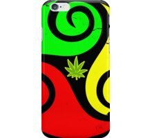 Reggae Love Vibes - Cool Weed Pot Reggae Rasta - Pouch T-Shirts and more iPhone Case/Skin