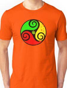 Reggae Love Vibes - Cannabis Reggae Flag Unisex T-Shirt