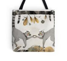 Lemurs In Love Tote Bag