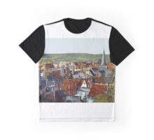Lewes Rooftops Graphic T-Shirt