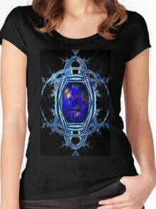 Interplanetary transit Women's Fitted Scoop T-Shirt