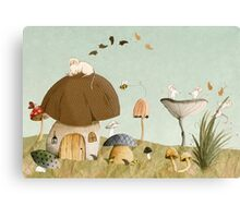 Mouse Garden Canvas Print
