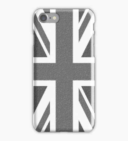 Black and White Union iPhone Case/Skin