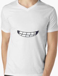 Grin Mens V-Neck T-Shirt