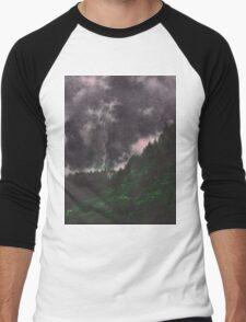 Misty Mountains Men's Baseball ¾ T-Shirt