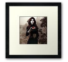 The Last Hearth - Cover Framed Print