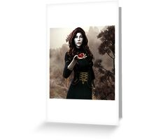 The Last Hearth - Cover Greeting Card