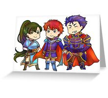 FE7 - lords Greeting Card