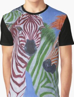 ZZZebras Graphic T-Shirt