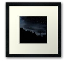 Nights in Suburbia Framed Print