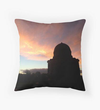 Nott Memorial Sunset - Union College Throw Pillow