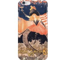 Artist Posters The horseshoe English and American bar 1 Bould Denain near the Gare du Nord Abel Truchet 0359 iPhone Case/Skin