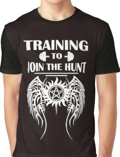 Training To Join The Hunt. SPN. Supernatural. Dean Winchester. Sam Winchester Graphic T-Shirt