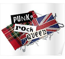 Punk Rock Queen Poster