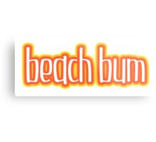 Beach Bum Orange Metal Print